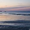 Sunset at Plymouth Beach, MA, USA