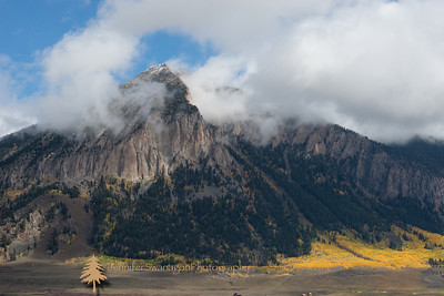 Mt. Crested Butte with first snow of autumn 2012.  This is a great ski area without the crowds of other resorts.