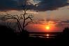 Sunset over Chobe River<br /> Chobe National Park<br /> Botswana, Africa<br /> July 19, 2010