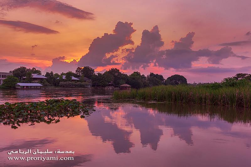 """River Kwai, Kanchanaburi """"Thailand""""."""
