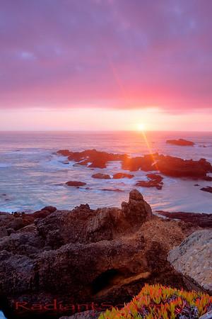 Pescadero Beach Sunset, Pescadero, California