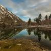"""Naltar Lake """"Pakistan""""."""