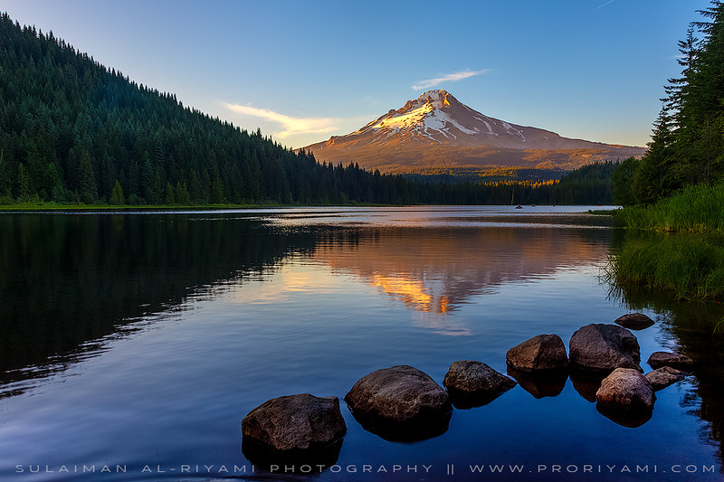 Trillium lake,Oregon,USA