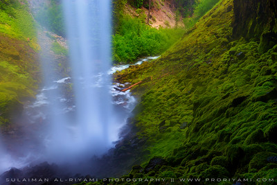 Tamnawas falls, Oregon,USA