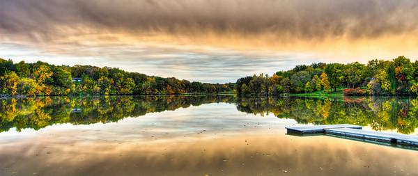 Lake Redwood HDR 3-2