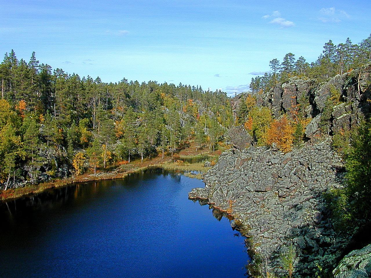 Revesaksskaret, Øvre Pavik nasjonalpark (© Ragnar Våga Pedersen)