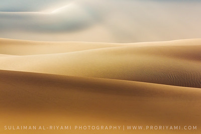 "Sand dunes of the Empty Quarter ""Oman"""