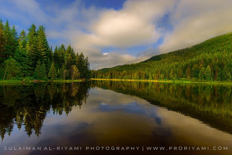 Trillium lake, Oregon, USA