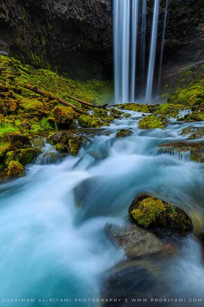 Tamnawas falls, Oregon, USA