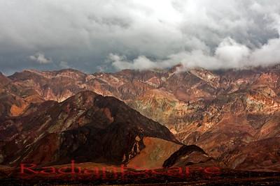 Stormy Pallete, Death Valley, CA