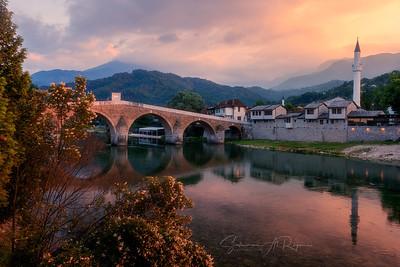 Old Turkish bridge