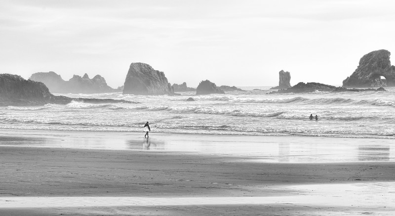 Oregon Coast Surfers