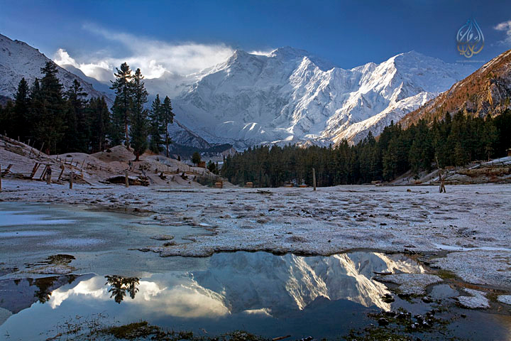 Nanga parbat peak (8126 m ASL), Fairy meadows, PAKISTAN