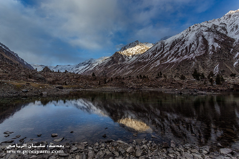 "Naltar Upper lake, Gilgit ""Pakistan""."