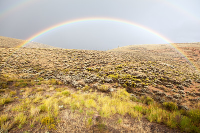 Rainbow In Colorado