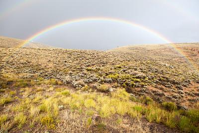 Rainbow In Colorado
