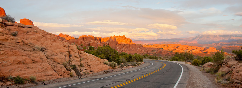 Way out in Arches, Utah