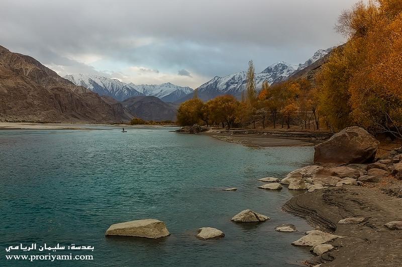 """Shayok river, Baltistan """"Pakistan""""."""
