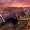 Palouse falls, East Washington, USA