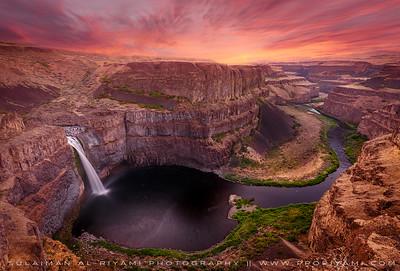Palouse falls, East Washington, USA