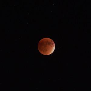 Super-Moon (95% Eclipse)