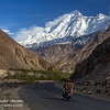 KKH and Rakaposhi mountain (7788 mtrs ASL).