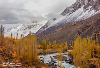 Autmn of Ghizer valley, Pakistan.