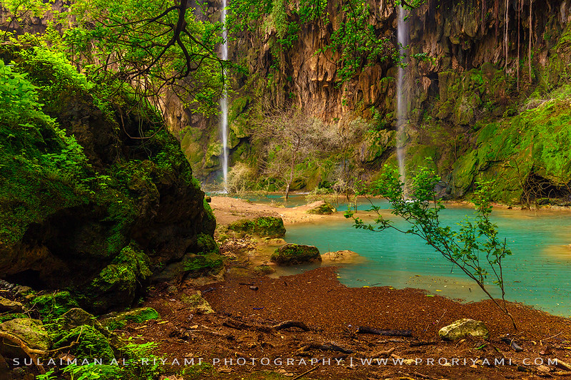 Athoom falls, Dhofar, Oman