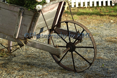 Vintage Cart with Flowers