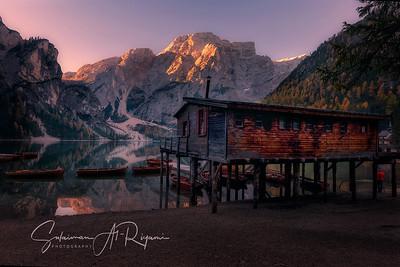"""Lago di Briase, Dolomite """"Italy"""""""