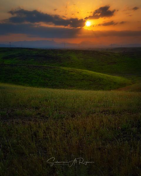 Al Khabourah sunset