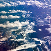 An arial shot of The Himalayan range with the first peak (Nanga parbat 8126 mtrs ASL).<br /> <br /> صوره جويه لسلسلة الهملايا
