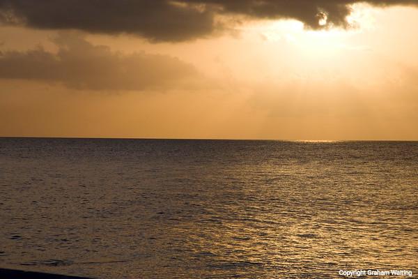 Sunset on New Providence Island