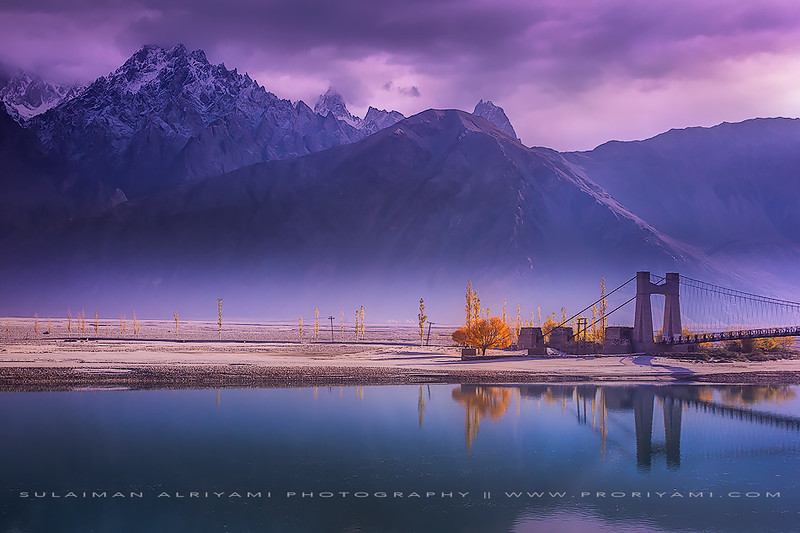 """Ganche valley in autumn 2014 """"Pakistan"""""""