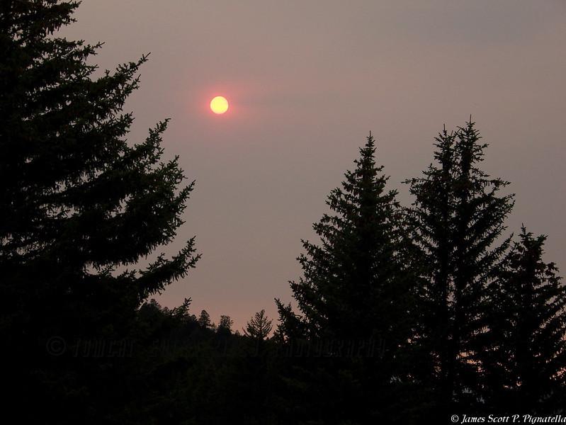 Wyoming Red Sunset