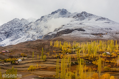 "Ghizir in autumn ""Pakistan"""