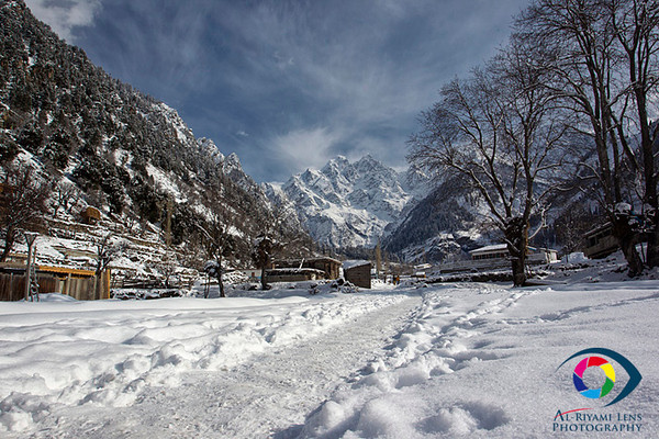 "Swat Valley in winter "" Pakistan """