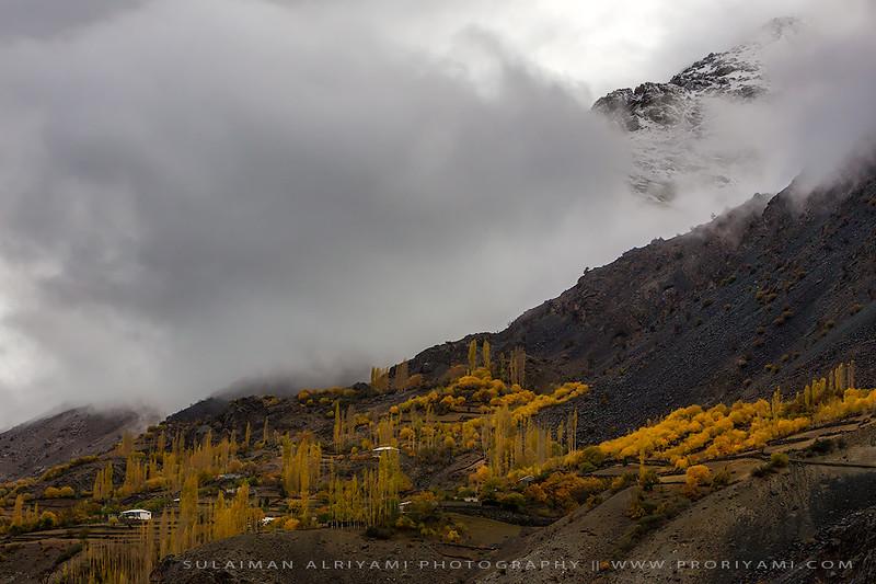 """phundar valley in autumn """"Pakistan"""""""