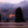 Cannon Beach, Oregon Pacific coast, USA