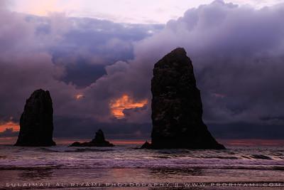 Cannon Beach, Oregon Pacific coast, USA