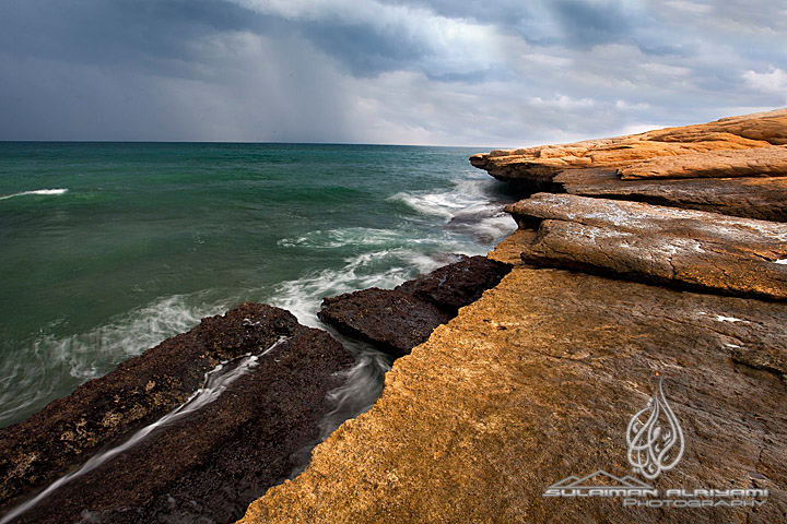"Canon EOS 5D + Canon 17-40 mm f/4L lens + Cokin CPL + 2 stops Cokin soft GND filter.<br /> Location: Sur ""Oman"""