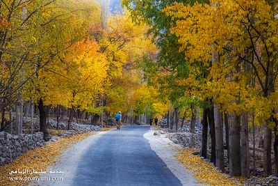 Autumn in Norht Pakistan.