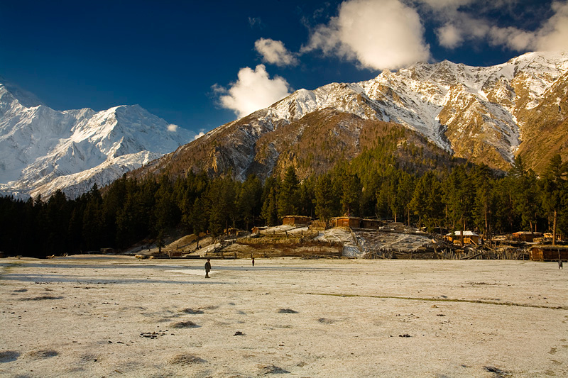 Fairy Meadows morning, North Pakistan