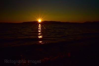 Hayes Lake Sunset, Summer 2021