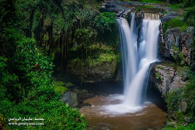 """waterfall taken in Bali """"Indonesia""""."""