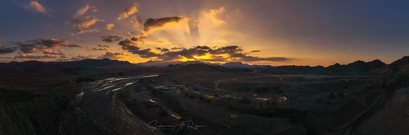 Wadi Hawasna Panorama