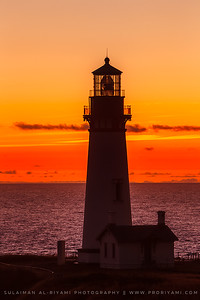 "Yaquina Head Lighthouse, Oregon Coast "" USA """