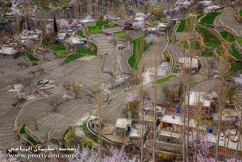 "Hunza Valley in Spring "" Pakistan"""