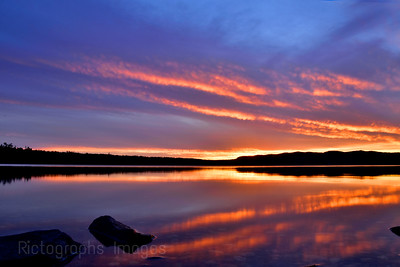 Colourful Hayes Lake, Summer, 2021