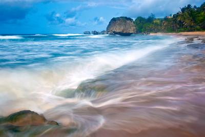 Sandy Waves of Barbados